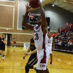 Charles Brown III. The Incarnate Word men's basketball team opened the season with an 87-71 victory over Southwestern on Friday night. (Joe Alexander / theJBreplay.com)