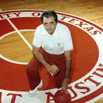 Abe Lemons was the men's basketball coach at Texas from 1976-77 through the 1981-82 season. (Courtesy of UT Athletics)