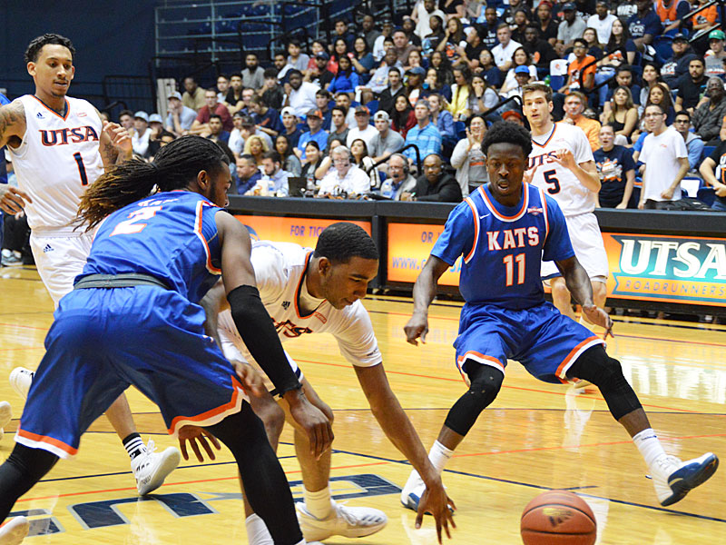 George Willborn III. UTSA lost to Sam Houston State on Thursday, March 22, 2018, at the UTSA Convocation Center in the CollegeInsider.com Tournament quarterfinals.