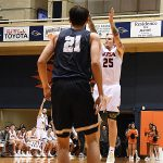 Nick Allen. St. Edward's beat UTSA 77-76 in men's basketball on Wednesday night, Nov. 8, 2018, at the UTSA Convocation Center. - photo by Joe Alexander