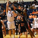 Byron Frohnen. UTSA beat Mid-American Christian 104-74 on Saturday, Dec. 8, 2018, at the UTSA Convocation Center. - photo by Joe Alexander