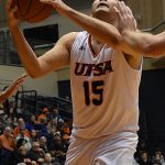 Adrian Rodriguez. UTSA beat Southeastern Oklahoma State 70-67 on Saturday, Dec. 29, 2018, at the UTSA Convocation Center. - photo by Joe Alexander