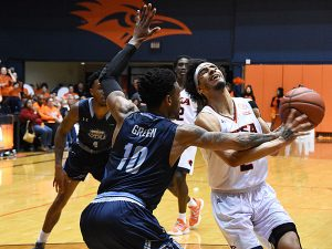 Jhivvan Jackson. Old Dominion beat UTSA 65-64 on Thursday night in a Conference USA game at the UTSA Convocation Center. - photo by Joe Alexander