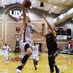 Sam Burmeister. The Incarnate Word men's basketball team opened the season with an 87-71 victory over Southwestern on Friday night. (Joe Alexander / theJBreplay.com)