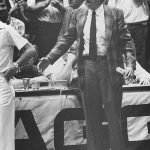 Abe Lemons was the men's basketball coach at Texas from 1976-77 through the 1981-82 season. (Courtesy of UT Athletics)