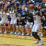 Keaton Wallace. UTSA lost to Sam Houston State on Thursday, March 22, 2018, at the UTSA Convocation Center in the CollegeInsider.com Tournament quarterfinals.