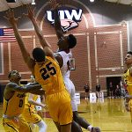 Charles Brown III. Northern Colorado beat UIW 90-64 on Wednesday, Nov. 21, 2018 at the UIW Convocation Center. - photo by Joe Alexander