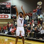 Antoine Smith Jr. Incarnate Word beat Trinity 82-57 on Tuesday, Dec. 4, 2018, at the UIW McDermott Center. - photo by Joe Alexander