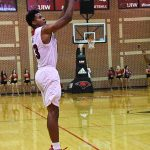 Charles Brown III. Incarnate Word beat Trinity 82-57 on Tuesday, Dec. 4, 2018, at the UIW McDermott Center. - photo by Joe Alexander
