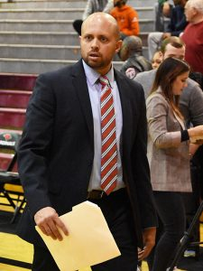 Incarnate Word assistant coach Darnell Archey at the UIW McDermott Center.