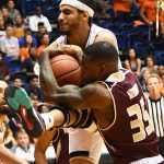 Jhivvan Jackson. Texas State beat UTSA 69-68 on Saturday, Dec. 1, 2018 at the UTSA Convocation Center. - photo by Joe Alexander