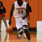 Atem Bior. UTSA overpowered Bethany 101-77 on Monday, Dec. 17, 2018 at the UTSA Convocation Center. - photo by Joe Alexander