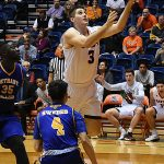 Byron Frohnen. UTSA overpowered Bethany 101-77 on Monday, Dec. 17, 2018 at the UTSA Convocation Center. - photo by Joe Alexander