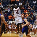 Keaton Wallace. UTSA overpowered Bethany 101-77 on Monday, Dec. 17, 2018 at the UTSA Convocation Center. - photo by Joe Alexander