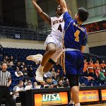 Tamir Bynum. UTSA overpowered Bethany 101-77 on Monday, Dec. 17, 2018 at the UTSA Convocation Center. - photo by Joe Alexander