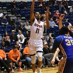 Adokiye Iyaye. UTSA overpowered Bethany 101-77 on Monday, Dec. 17, 2018 at the UTSA Convocation Center. - photo by Joe Alexander