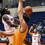 Keaton Wallace. UTSA beat Southeastern Oklahoma State 70-67 on Saturday, Dec. 29, 2018, at the UTSA Convocation Center. - photo by Joe Alexander