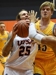 Nick Allen. UTSA beat Southeastern Oklahoma State 70-67 on Saturday, Dec. 29, 2018, at the UTSA Convocation Center. - photo by Joe Alexander