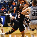 Jhivvan Jackson. UTSA beat Rice 95-79 on Thursday, Jan. 10, 2019, at the UTSA Convocation Center.