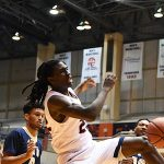 UTSA guard Keaton Wallace throws down a dunk in the second half of the Roadrunners' 100-67 victory over Florida International on Thursday at the Convocation Center. - photo by Joe Alexander