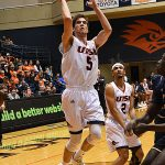 Giovanni De Nicolao. UTSA beat Florida International 100-67 on Thursday, Feb. 7, 2019, at the UTSA Convocation Center. - photo by Joe Alexander