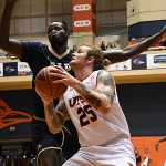 Nick Allen. UTSA beat Florida International 100-67 on Thursday, Feb. 7, 2019, at the UTSA Convocation Center. - photo by Joe Alexander