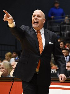 Steve Henson. UTSA beat Florida International 100-67 on Thursday, Feb. 7, 2019, at the UTSA Convocation Center. - photo by Joe Alexander