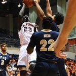 Atem Bior. UTSA beat Florida International 100-67 on Thursday, Feb. 7, 2019, at the UTSA Convocation Center. - photo by Joe Alexander