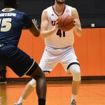 Toby Van Ry. UTSA beat Florida International 100-67 on Thursday, Feb. 7, 2019, at the UTSA Convocation Center. - photo by Joe Alexander