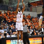 Adokiye Iyaye. UTSA beat Florida International 100-67 on Thursday, Feb. 7, 2019, at the UTSA Convocation Center. - photo by Joe Alexander