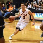 Giovanni De Nicolao. Old Dominion beat UTSA 65-64 on Thursday night in a Conference USA game at the UTSA Convocation Center. - photo by Joe Alexander