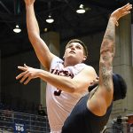 Byron Frohnen. Old Dominion beat UTSA 65-64 on Thursday night in a Conference USA game at the UTSA Convocation Center. - photo by Joe Alexander