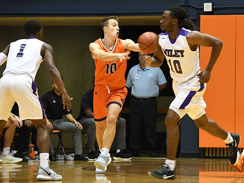Erik Czumbel. UTSA beat Wiley College 90-68 on Friday in the Roadrunners' first home game of the 2019-20 men's basketball season. - photo by Joe Alexander
