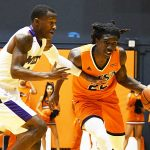 Keaton Wallace.UTSA beat Wiley College 90-68 on Friday in the Roadrunners' first home game of the 2019-20 men's basketball season. - photo by Joe Alexander