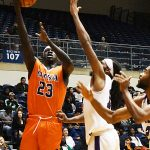 Atem Bior. UTSA beat Wiley College 90-68 on Friday in the Roadrunners' first home game of the 2019-20 men's basketball season. - photo by Joe Alexander
