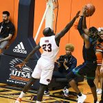 Atem Bior. UTSA beat A&M-Corpus Christi 89-67 on Tuesday night at the UTSA Convocation Center. - photo by Joe Alexander