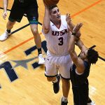 Byron Frohnen. UTSA beat A&M-Corpus Christi 89-67 on Tuesday night at the UTSA Convocation Center. - photo by Joe Alexander