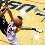 Erik Czumbel. UTSA beat Our Lady of the Lake 99-64 on Saturday at the UTSA Convocation Center. - photo by Joe Alexander