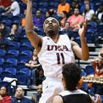 Adokiye Iyaye. UTSA beat Our Lady of the Lake 99-64 on Saturday at the UTSA Convocation Center. - photo by Joe Alexander