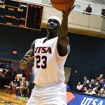 Atem Bior. UTSA beat Our Lady of the Lake 99-64 on Saturday at the UTSA Convocation Center. - photo by Joe Alexander