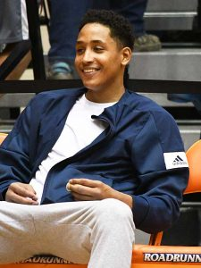 UTSA men's basketball player Eric Parrish. - photo by Joe Alexander