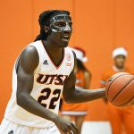 Keaton Wallace. UTSA beat UT-Permian Basin 98-55 on Sunday at the UTSA Convocation Center. - photo by Joe Alexander