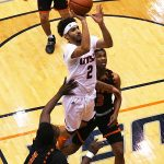 Jhivvan Jackson. UTSA beat UT-Permian Basin 98-55 on Sunday at the UTSA Convocation Center. - photo by Joe Alexander