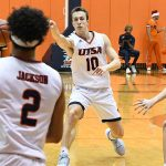 Erik Czumbel. UTSA beat UT-Permian Basin 98-55 on Sunday at the UTSA Convocation Center. - photo by Joe Alexander