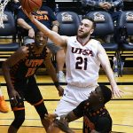 Knox Hellums. UTSA beat UT-Permian Basin 98-55 on Sunday at the UTSA Convocation Center. - photo by Joe Alexander