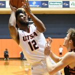 Phoenix Ford. UTSA beat UT-Permian Basin 98-55 on Sunday at the UTSA Convocation Center. - photo by Joe Alexander