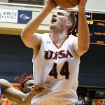 Luka Barisic. UTSA beat Louisiana Tech 89-73 in Conference USA on Thursday at the UTSA Convocation Center. - photo by Joe Alexander