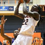 Keaton Wallace. UTSA beat Louisiana Tech 89-73 in Conference USA on Thursday at the UTSA Convocation Center. - photo by Joe Alexander