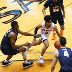 Jhivvan Jackson. UTSA beat UTEP 86-70 on Saturday at the UTSA Convocation Center. - photo by Joe Alexander