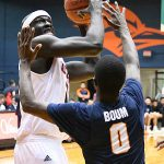 Atem Bior. UTSA beat UTEP 86-70 on Saturday at the UTSA Convocation Center. - photo by Joe Alexander